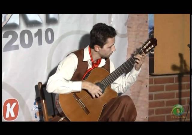 Enart 2010  »  Violão  »  Rodrigo Carvalho - CTG  Laço da Querência