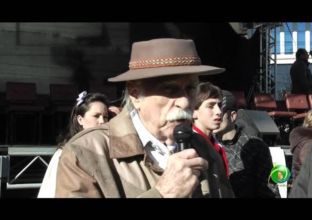 Acendimento Chama Crioula »  Entrevista Rodi Borghetti