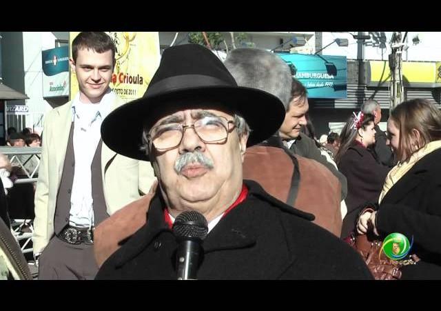 Acendimento Chama Crioula »  Entrevista Helio Louzada