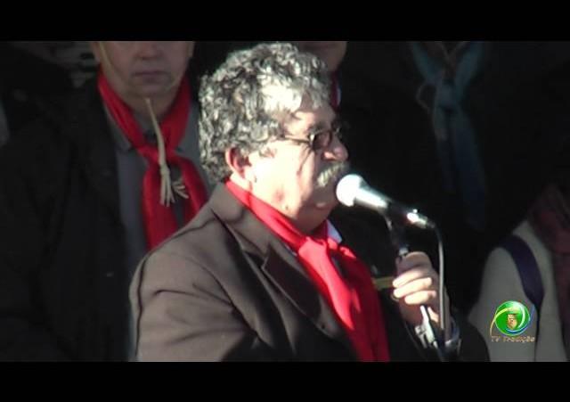 Acendimento Chama Crioula »  Pronunciamento Presidente Bertolini