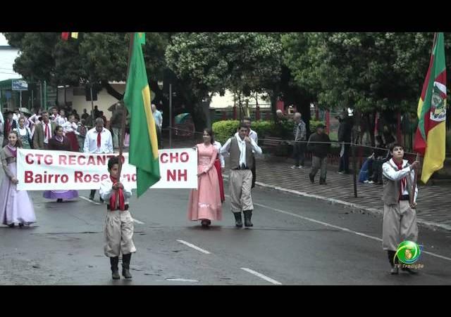 Festejos Farroupilhas de NH 2011 »  Desfile Temático »  CTG Recanto Gaúcho