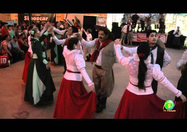 Festejos Farroupilhas de NH 2011 »  Soc. Gaúcha de Lomba Grande »  Dança de Integração