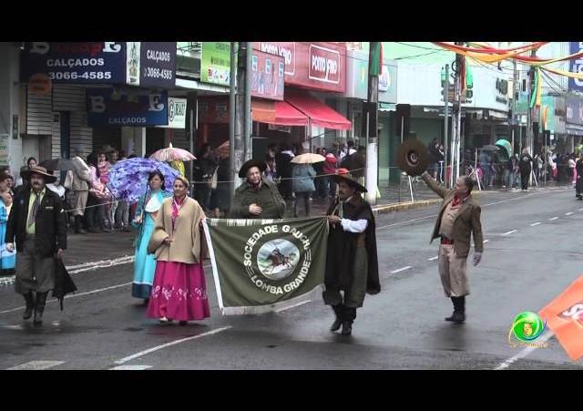 Festejos Farroupilhas de NH 2011 »  Desfile Temático »  Soc. Gaúcha de Lomba Grande