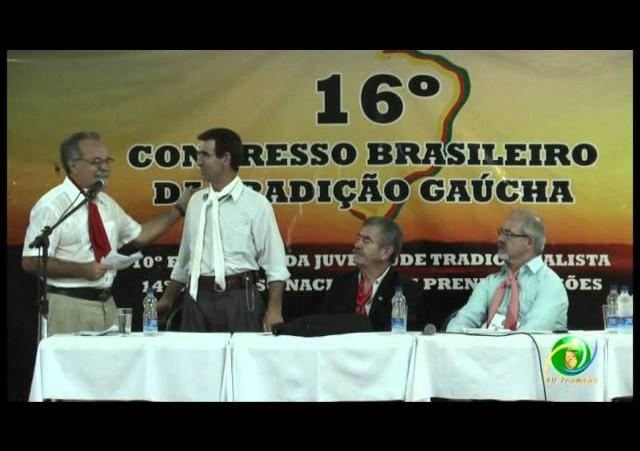 16º Congresso Brasileiro da Tradição Gaúcha »  Palestra Jarbas Lima