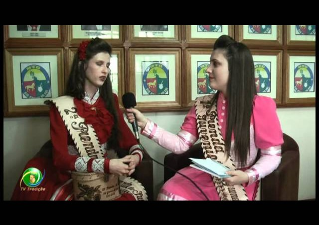 Entrevista »  Gabriela Ertel Heinen - 2ª Prenda do RS
