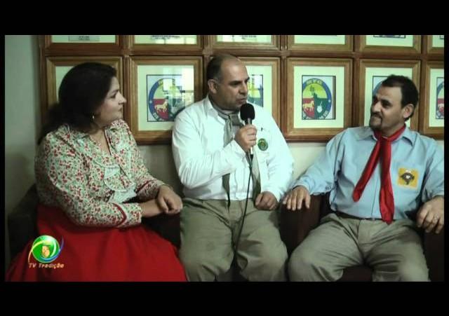 Entrevista »  Ernani e Jaqueline Nunes - Dep. Apoia à Juventude Tradicionalista