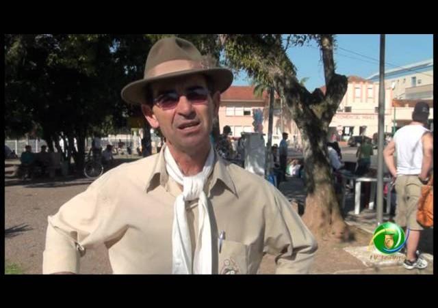 Acendimento da Chama Crioula 2012 »  Venâncio Aires »  Entrevista »  Savaris