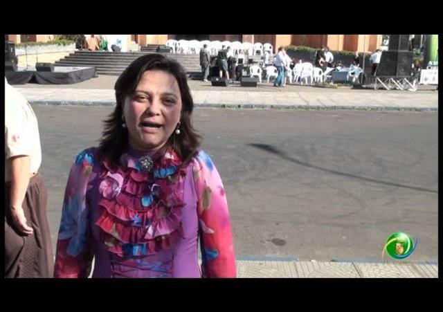 Acendimento da Chama Crioula 2012 »  Venâncio Aires »  Entrevista »  Luce Carmem Mayer