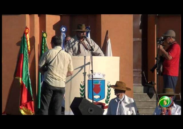 Acendimento da Chama Crioula 2012 »  Venâncio Aires »  Geração da Chama Crioula