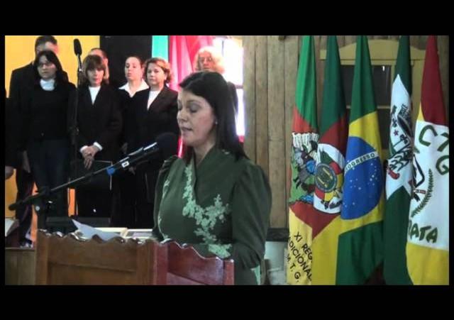 Lançamento dos festejos dos 88 anos do município e 50 anos do CTG »  Nova Prata »  Cerimônia