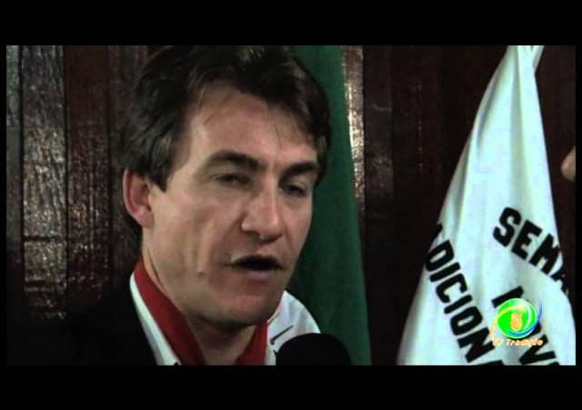 Lançamento do Rodeio Internacional de Marau »  Prefeito Zanchin