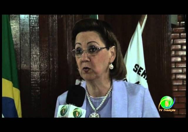 Lançamento do Rodeio Internacional de Marau »  Coordenadora Gilda