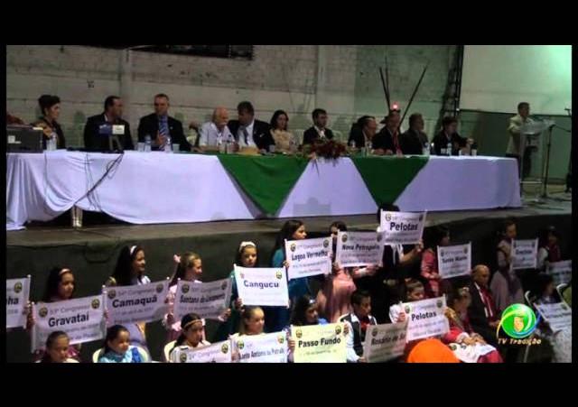 60º Congresso Tradicionalista - Abertura
