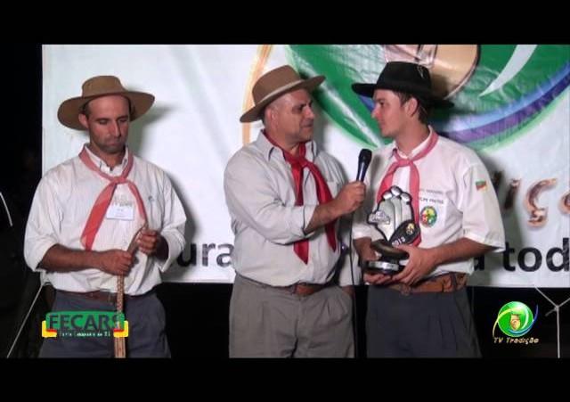 Fecars 2013 - Entrevista Fabinho e Felipe (1º e 3º Lugar Laço Narrador)
