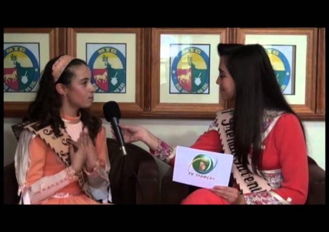 Entrevista - Priscila Araújo Fagundes - 3ª Prenda Mirim do RS