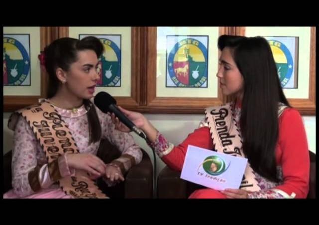 Entrevista - Djuly Pereira Rutz - 2ª Prenda Juvenil do RS