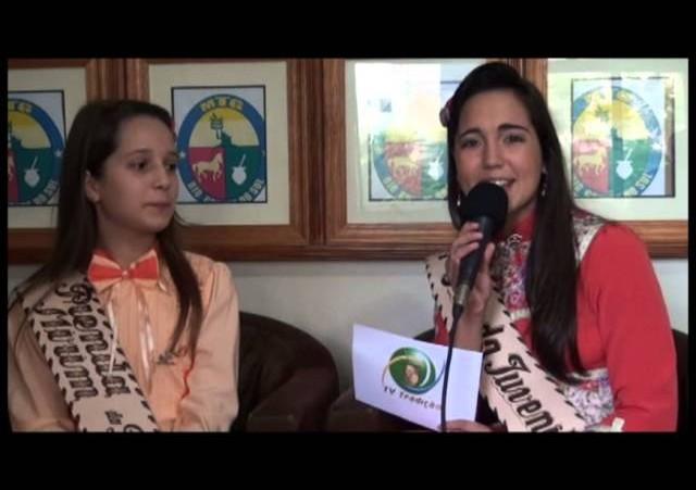 Entrevista - Nathália Todero Boeira - 2ª Prenda Mirim do RS