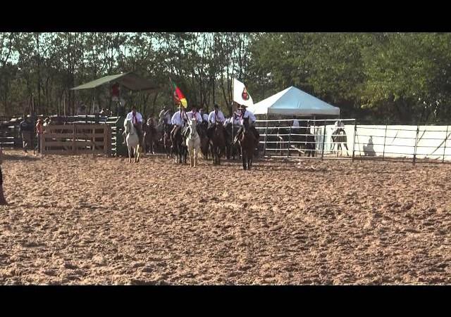 16º Rodeio Nacional de Campeões - Abertura Campeira
