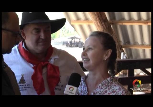 XXIV Rodeio Estadual de Paraí - Entrevista com a Patroa do CTG Rodeio da Amizade
