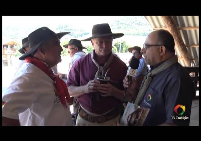 XXIV Rodeio Estadual de Paraí  - Entrevista com o Patrão do CTG Rodeio da Amizade
