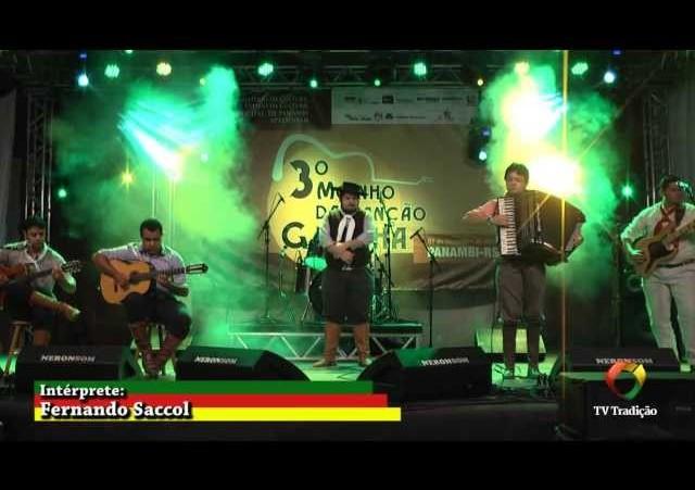 3º Moinho da Canção Gaúcha - Esses Campos me Conhecem