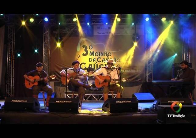 3º Moinho da Canção Gaúcha - Sabino Cruz