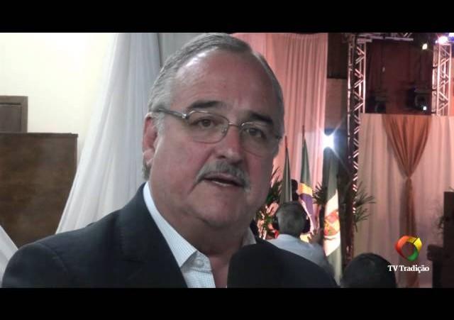 3º Moinho da Canção Gaúcha - Entrevista com o Governador em Exercício