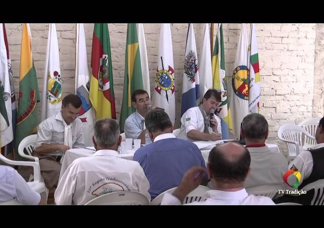 Reunião geral do MTG   Pauta Inter regionais ENART