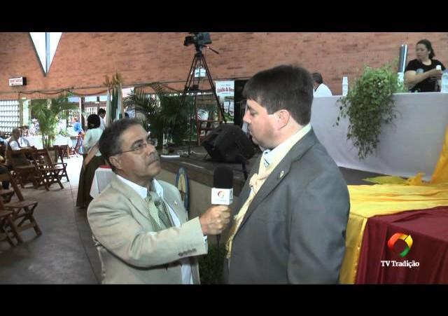 61º Congresso Tradicionalista Gaúcho - Entrevista - José Roberto Fischborn