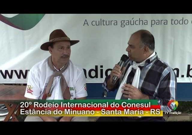 20º Rodeio Internacional do Conesul   João Carlos Moura Neco