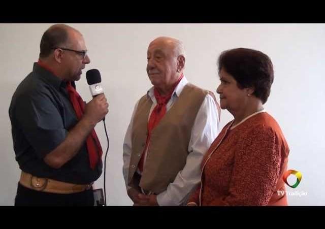 Entrevista Casal Feltrin - Padrinhos do 26º Entrevero