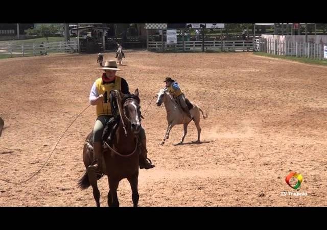 20º Rodeio Internacional do Conesul - Laço Prenda - 1ª e 2ª Voltas - Sexta-Feira