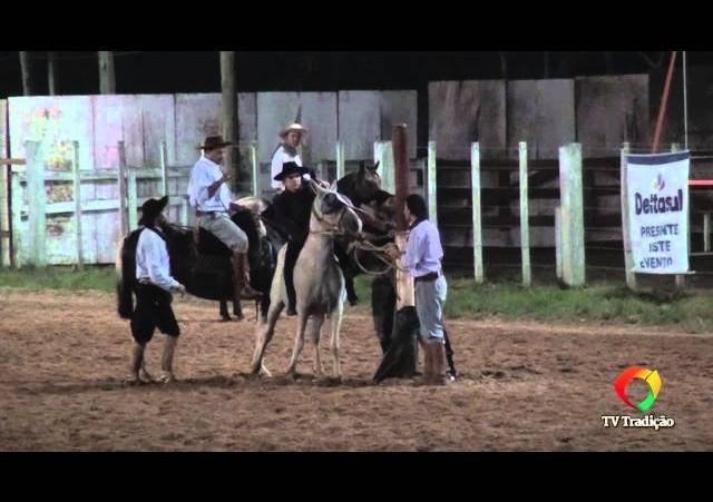 20º Rodeio do Conesul - Gineteada Modalidade Gurupa - Thiago Passos