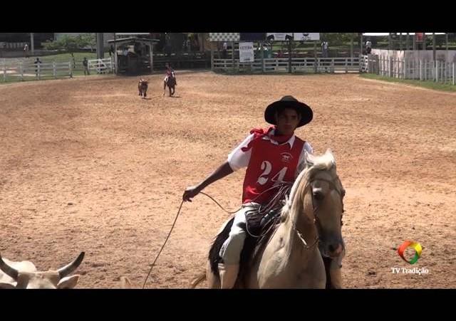 20º Rodeio Internacional do Conesul - Laço Guri e Guria - 1ª e 2ª Voltas - Sexta-Feira