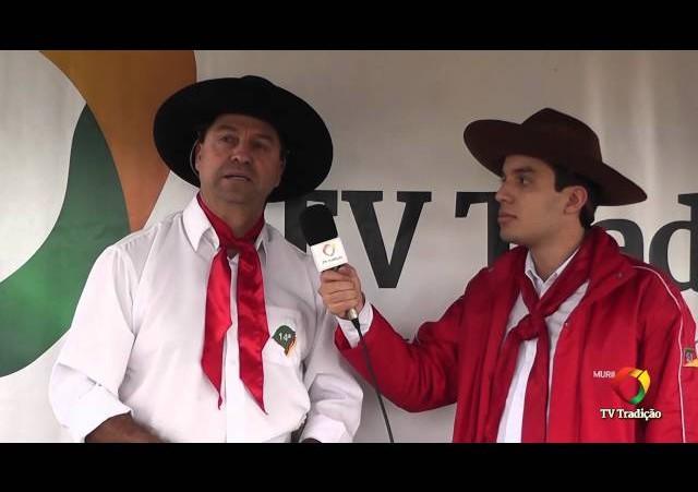 26ª FECARS   Entrevista com o campeão laço autoridade