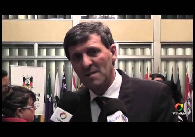Entrevista - Deputado Gilmar Sossella