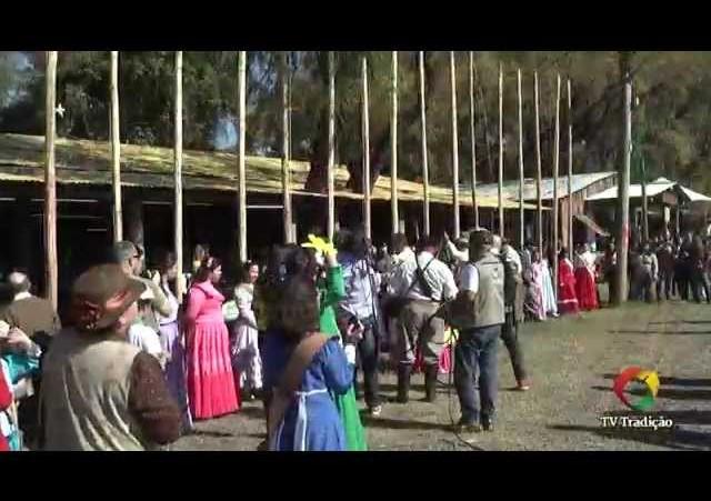 Cerimônia de Abertura - Acampamento extraordinário 2014