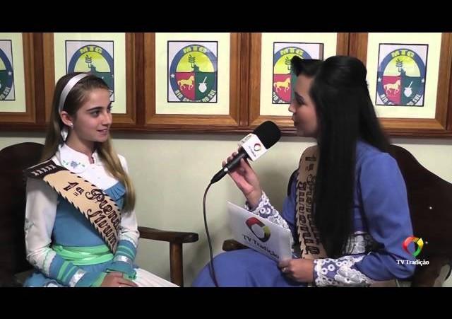 Entrevista - Laura Durli - 1ª Prenda Mirim do RS 2014/2015