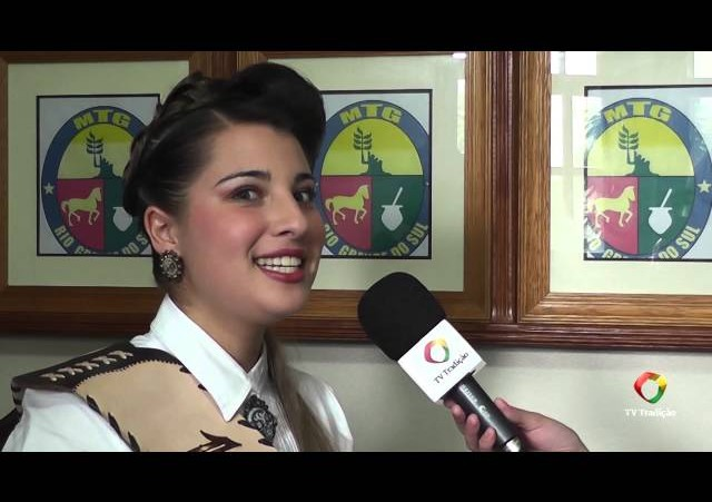 Entrevista - Caroline Lemos - 1ª Prenda do RS 2014/2015