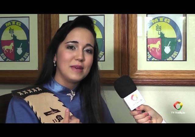 Entrevista - Amanda Faleiro - 1ª Prenda Juvenil do RS 2014/2015
