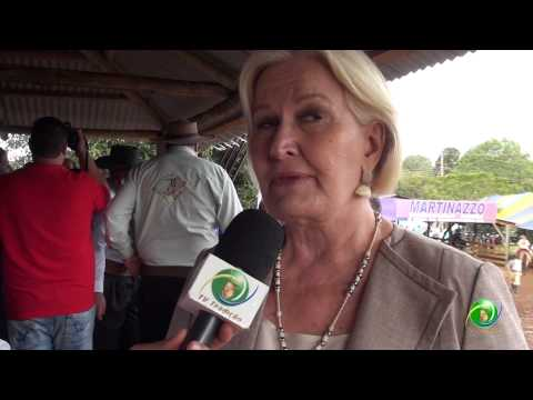 XVI Festa Nacional do Churrasco - Ana Amelia Lemos - Entrevista