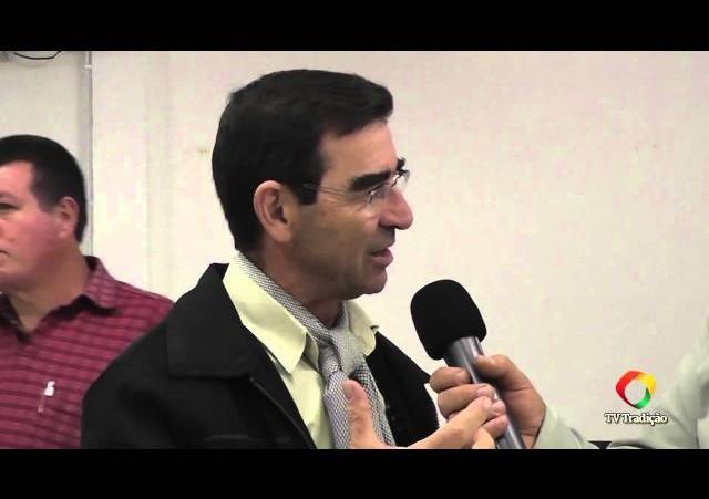 Acendimento da Chama Crioula 2014 - Entrevista - Manoelito Savaris