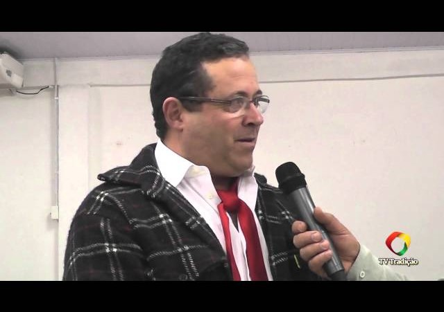 Acendimento da Chama Crioula 2014 - Entrevista - Cyro da Porciúncula Dias da Costa