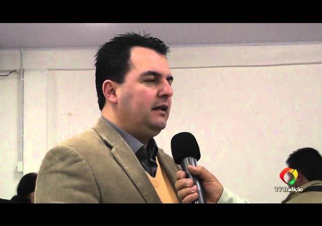 Acendimento da Chama Crioula 2014 - Entrevista - Prefeito Juliano da Silva