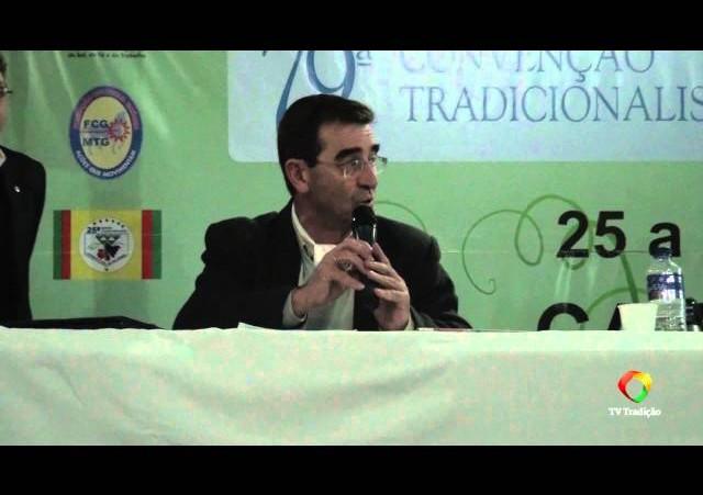 79ª Convenção Tradicionalista - Agradecimentos e Oração