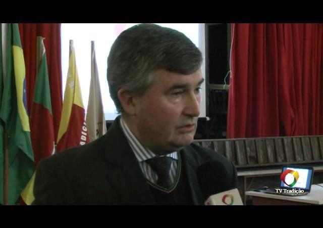 Cerimônia de Lançamento do ENART 2014 - Entrevista - Secretário Cesar Cechinato