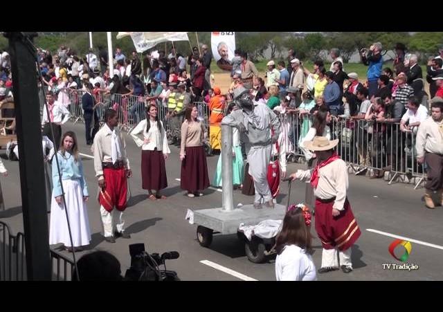 Desfile Temático - Festejos Farroupilhas de Porto Alegre 2014