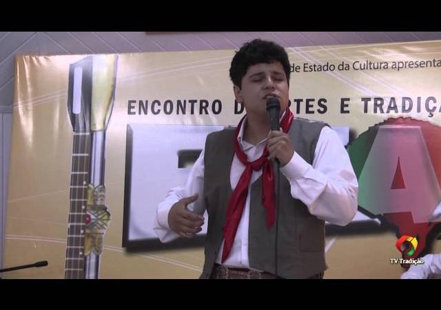 ENART 2014 - Felipe de Oliveira Lopes - Intérprete Solista Vocal Masculino - Sábado
