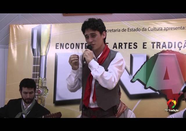 ENART 2014 - Guilherme Souza Rodrigues - Intérprete Solista Vocal Masculino - Sábado