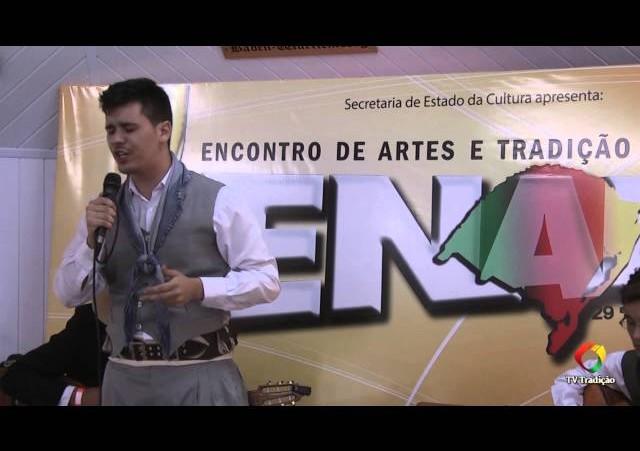 ENART 2014 - Jonatan Bigotto - Intérprete Solista Vocal Masculino - Sábado